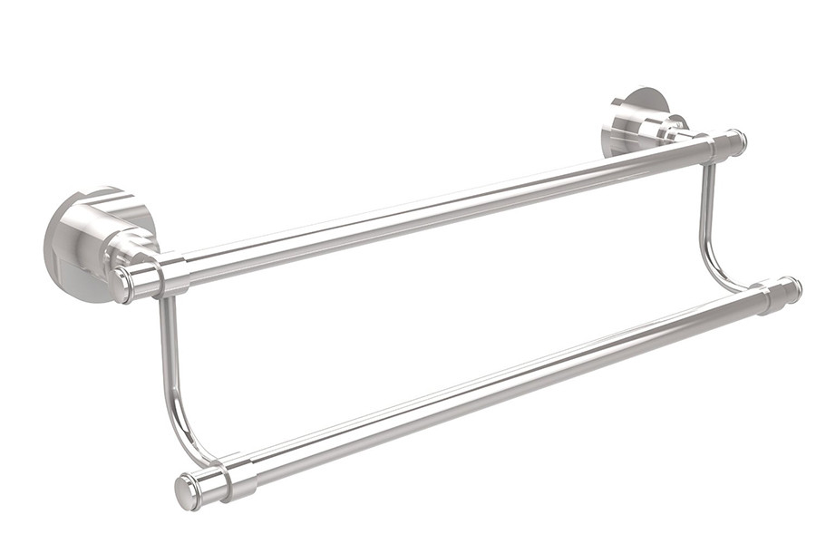 allied brass ws 72 18 washington square 18 inch double towel bar. Black Bedroom Furniture Sets. Home Design Ideas
