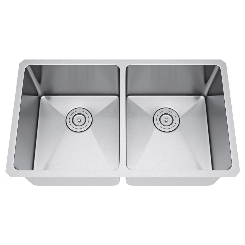 Exclusive Heritage KSH-3118-D5-UBS Double Stainless Kitchen