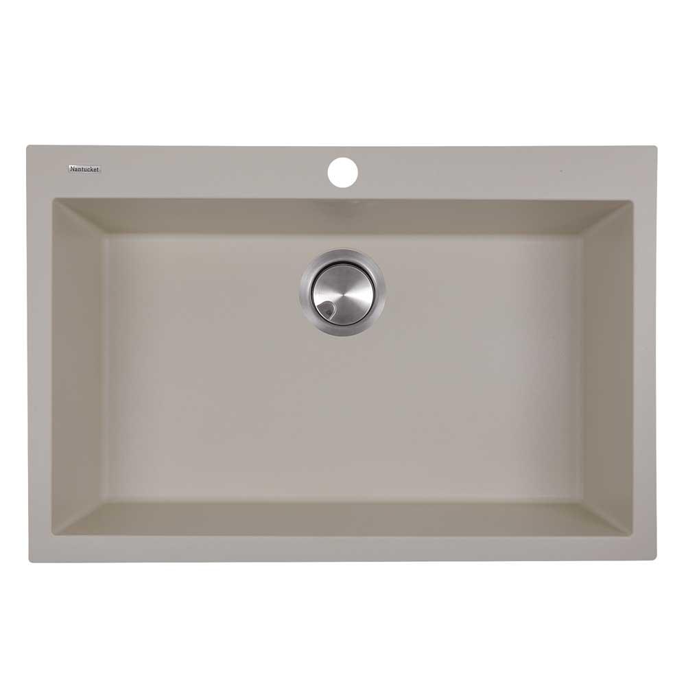 Nantucket sinks pr3020 dm granite composite kitchen sink