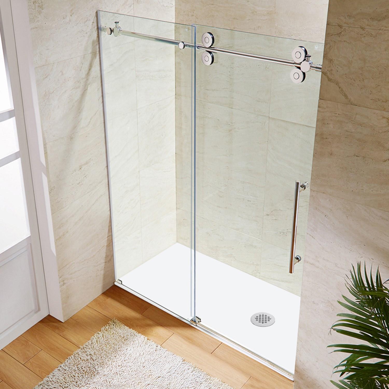 Vigo Vg6041cl6074 Elan Frameless Shower Door With Clear
