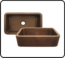 Copper Farm Sinks