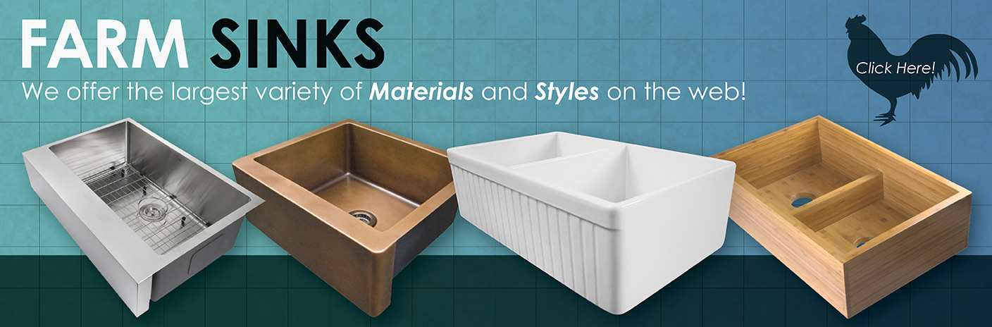 Shop the Largest Selection of Farm Sink on the Web!